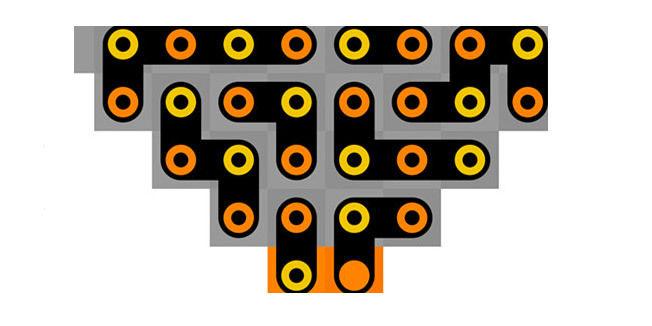 设计让你在不断挑战尝试中获得乐趣——移动贪吃蛇,使之匹配彩色方块