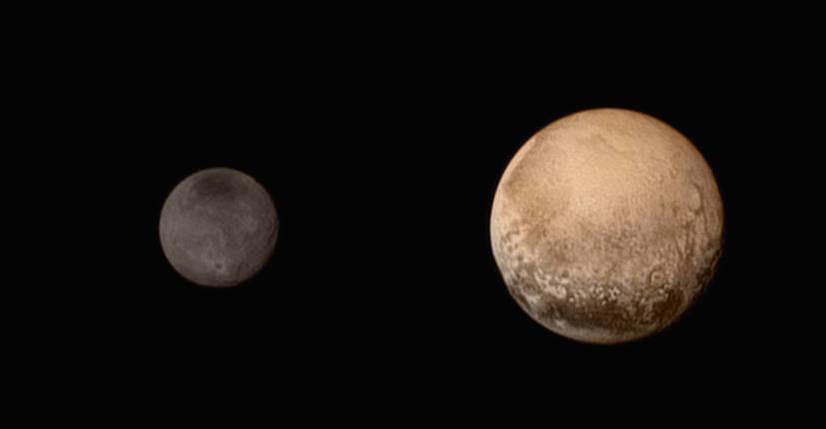 独自穿越 48 亿公里星辰大海,只为 9 年后遇见你,冥王星