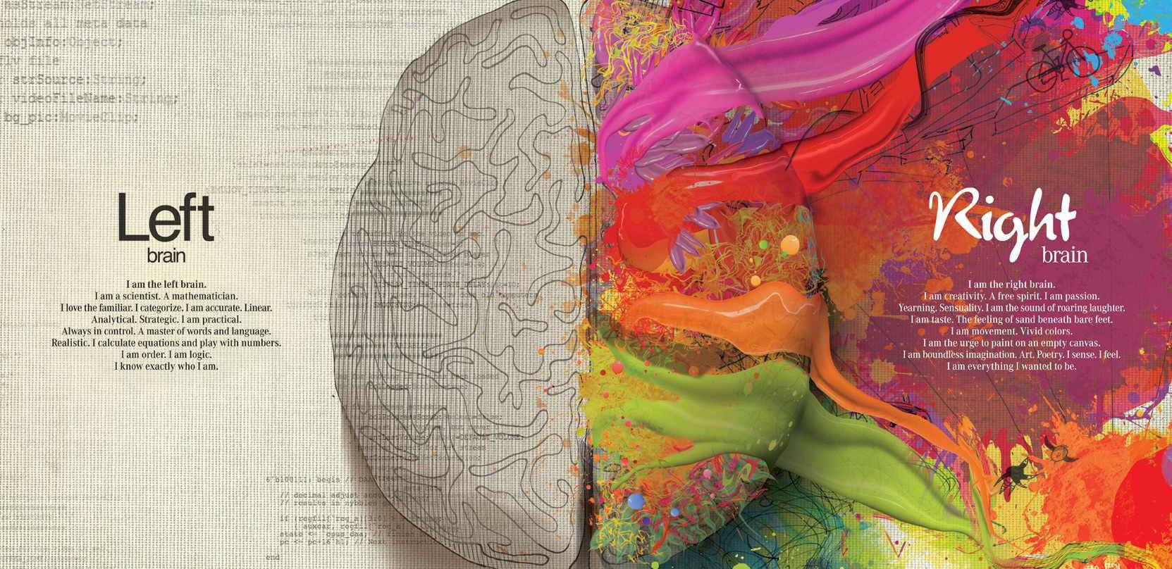 看右脑如何点亮创意,程序员们你们或许不懂吧