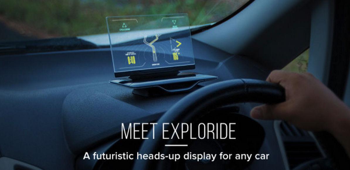 想知道国内外车联网差距?一块半透明屏幕就够了