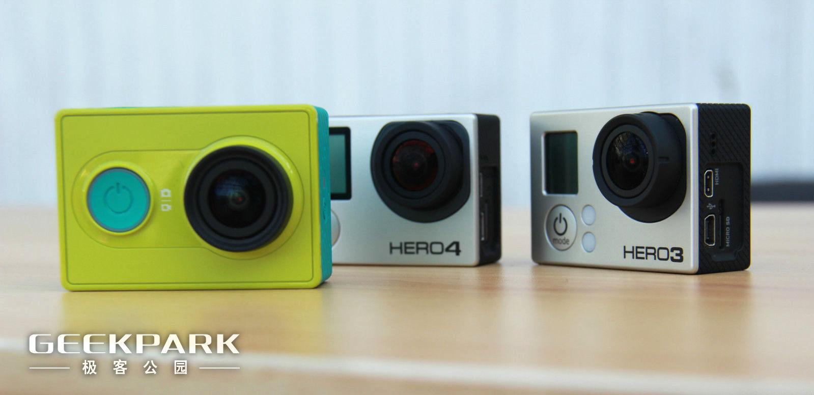 首发体验 | 小米的运动相机与GoPro能比吗?