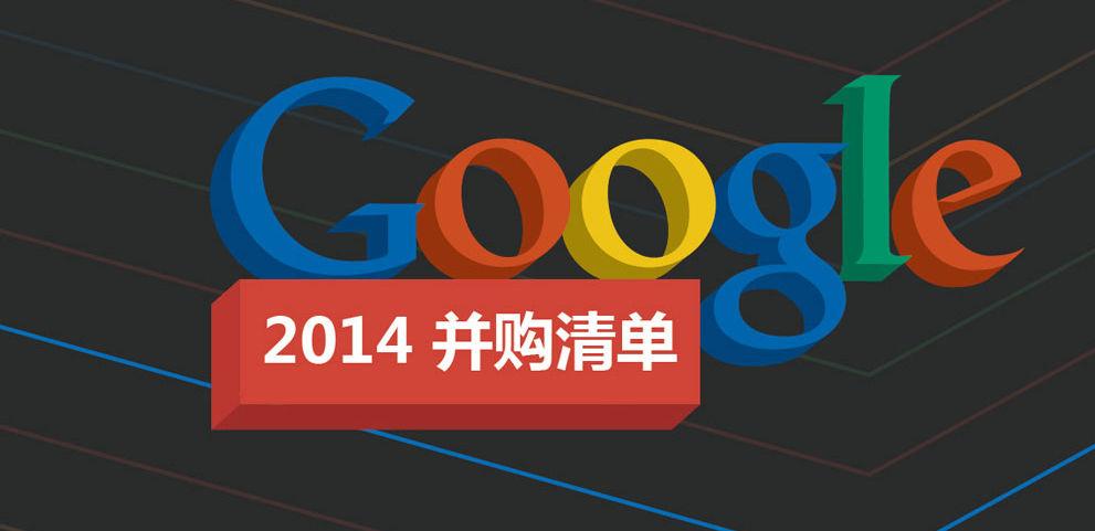 过去一年里,Google 都买了谁?