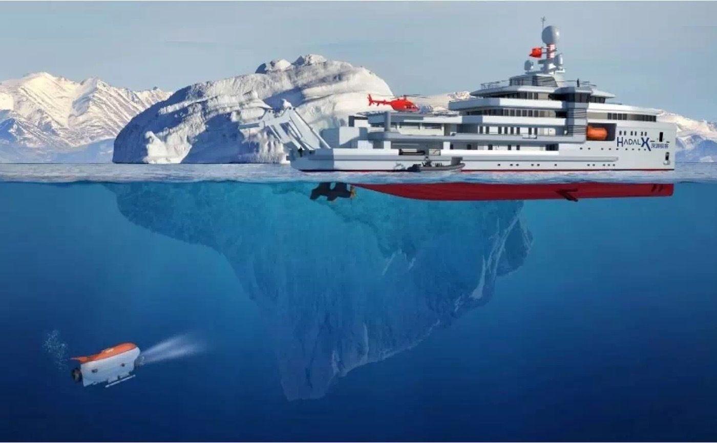 坐上一艘去往南极的船看看海底有什么,这个愿望你有过吗?