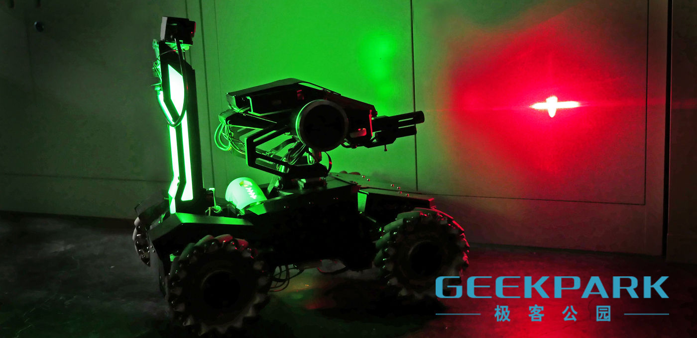 现场 | RoboMasters: 首次亮相 GIF2015 的机器战车