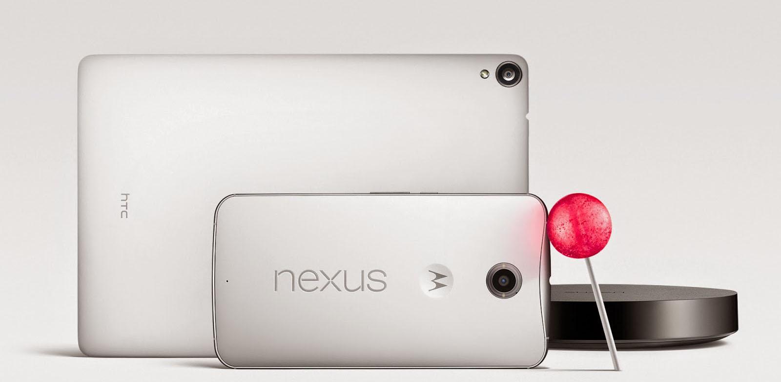 Nexus 6、9 来了,Android 5.0 的糖果纸终于被拨开