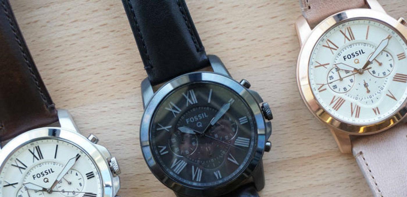 又一款高颜值的智能手表,来自于时尚品牌 Fossil