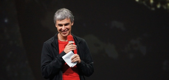 Google CEO 拉里·佩奇不为人知的故事