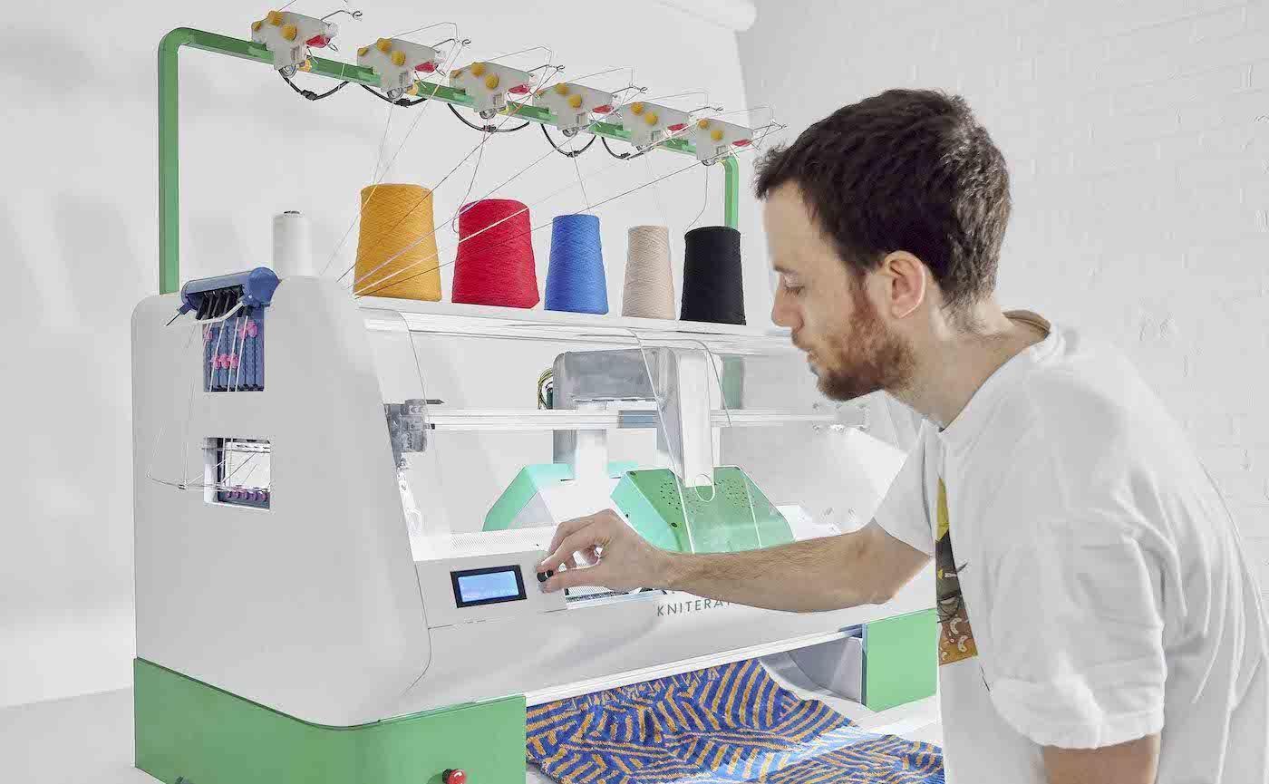 妈妈不在谁来给你织毛衣?这个智能纺织机来帮你