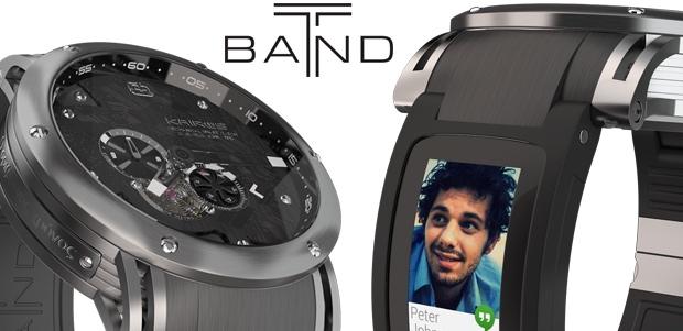 让你的机械表「智能化」 :T-Band 智能表带