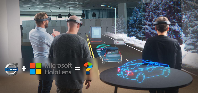 当沃尔沃遇上微软HoloLens:「混合现实」黑科技实测