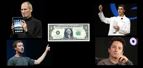 小扎只要一美元 | 极客早知道 2014 年 4 月 1 日