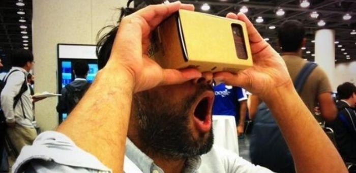 玩转 Cardboard,让你也享受一把虚拟现实的乐趣