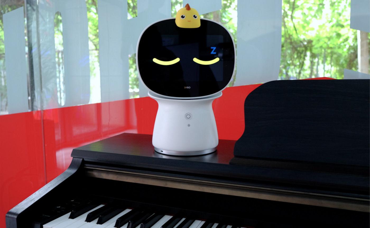 陪伴孩子的「新朋友」——360 儿童机器人体验
