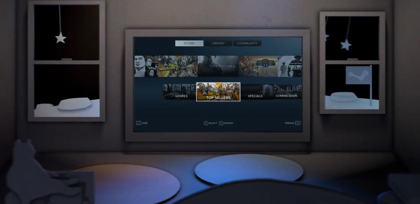 Valve 如何把 PC 游戏搬到客厅?