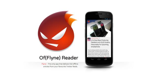 Flyne:专注阅读的离线阅读应用