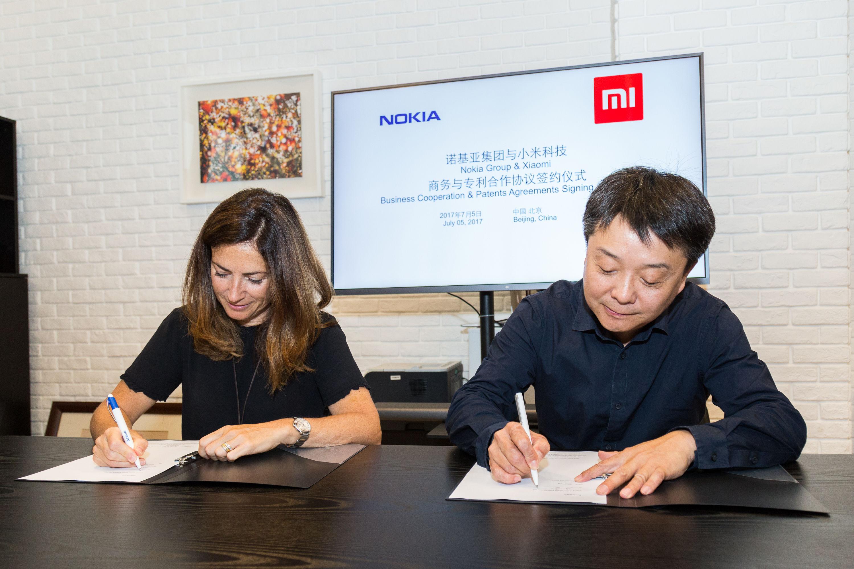 小米与诺基亚签署商务与专利合作协议