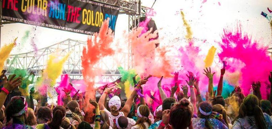 为什么年轻人喜欢The Color Run