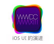 写在 WWDC 2013 前的回顾之 iOS UI 的演进
