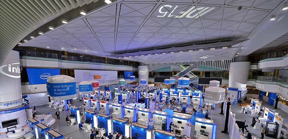 现场 | 英特尔 IDF15 展会上都有哪些好玩的产品?