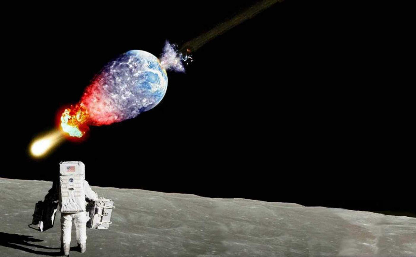 面对陨石撞地球的末日,人类其实很无力