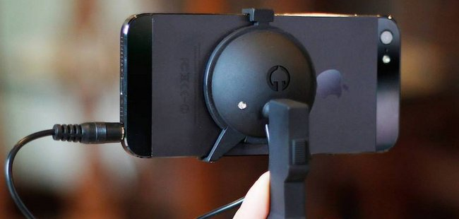 iPhone 摄影也要专业化:超迷你手持稳定器