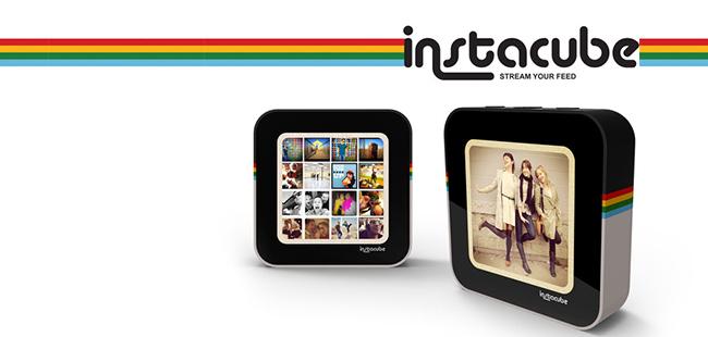 一个集成了 instagram 的相框:instacube