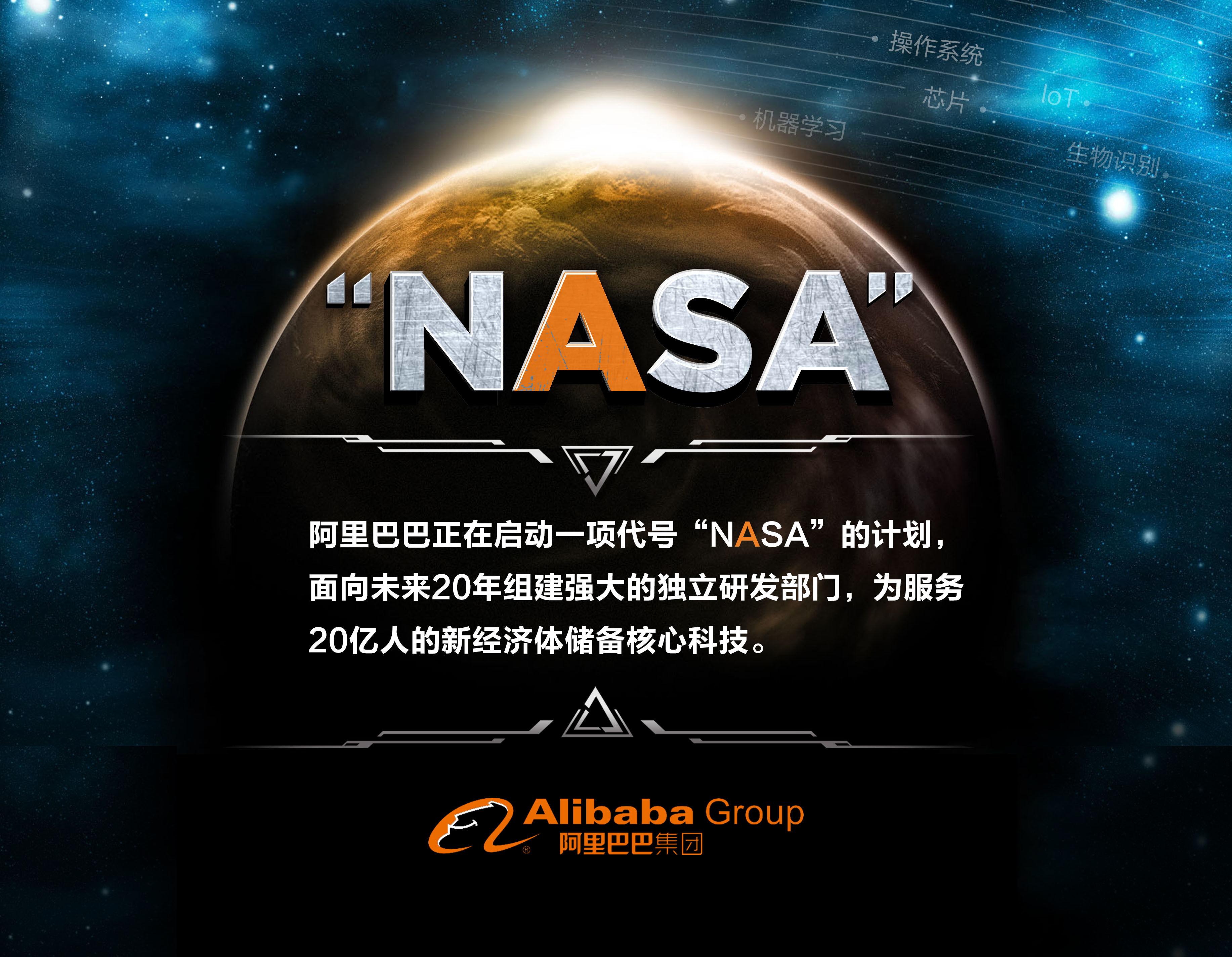 """""""外星人""""马云启动""""NASA""""计划  阿里未来20年核心科技研发愿景曝光.jpeg"""