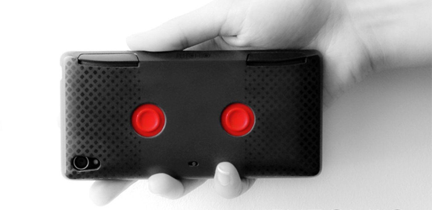 装上这个手机壳,让你的手机瞬间变成随身掌机
