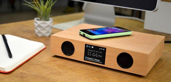 最智能的蓝牙音箱,最酷的无线充电台:Glowdeck