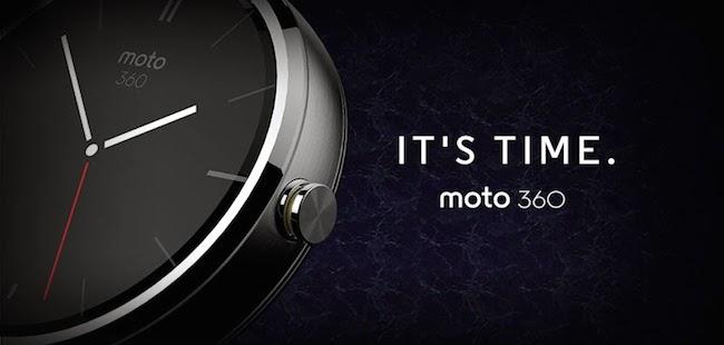 【今日看点】MOTO 360——先做一块好手表,再让它智能起来