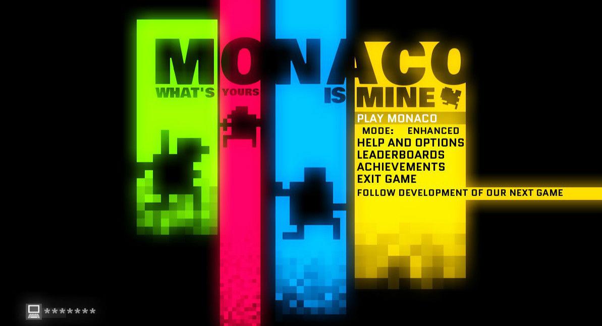 Monaco:一款更符合现代口味的《吃豆人》游戏