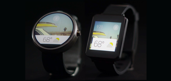 【I/O 2014】Android Wear:先是手表,再谈智能
