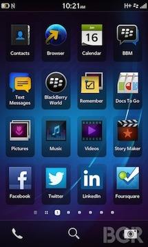BlackBerry 10 发布会之前:系统、设备和其它信息
