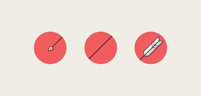 9款适合扁平化设计的图标悬浮效果