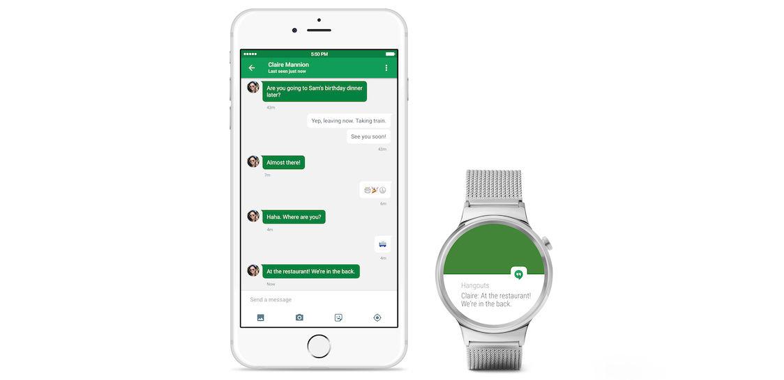 Google 宣布 Android Wear 今日起支持 iOS 设备| 极客早知道 2015 年 9 月 1 日