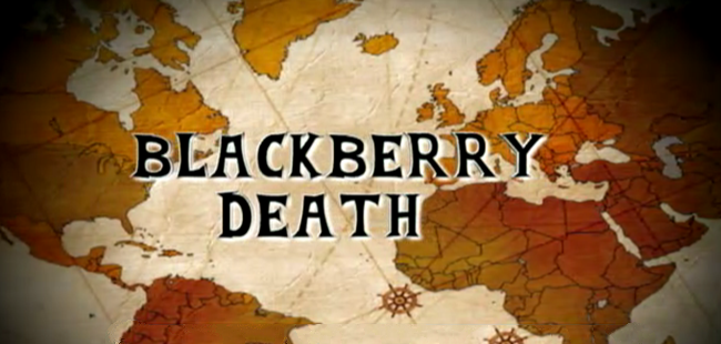 BlackBerry Down | 极客早知道2013年9月24日