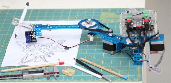 mDrawbot :帮助我们重燃绘画梦想的机器人
