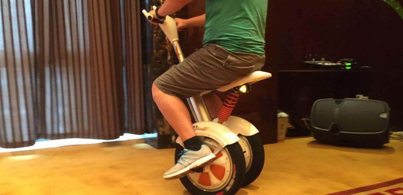 骑着走的平衡车,你见过吗?