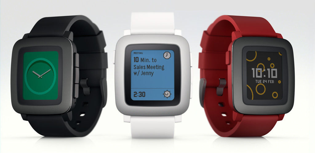 Pebble 推出新款智能手表 Time,重回众筹「刷榜」