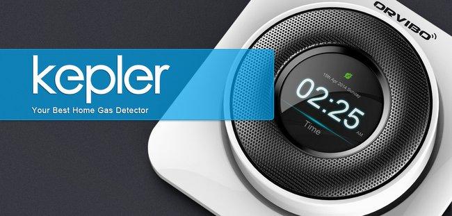能救你一命的家庭智能燃气检测产品 Kepler