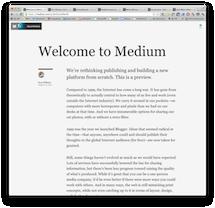 Medium 能否变革互联网内容发行?