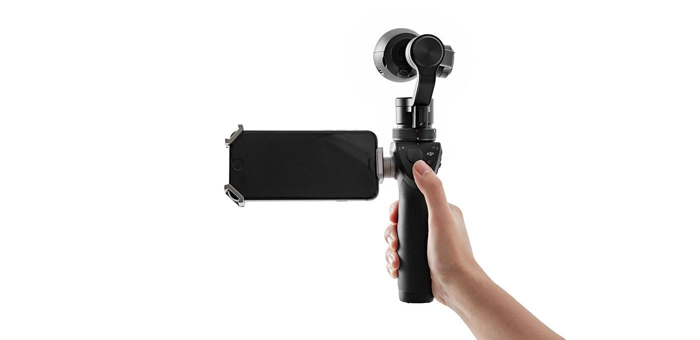 视频 | 大疆Osmo手持云台相机上手:它真的不会飞!