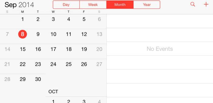 传 5.5 寸 iPhone 采用 iPad 界面 | 极客早知道 2014 年 9 月 9 日