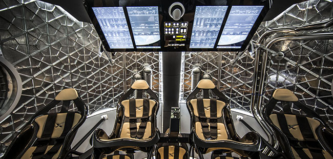Dragon V2:Elon Musk 的全民太空旅行梦