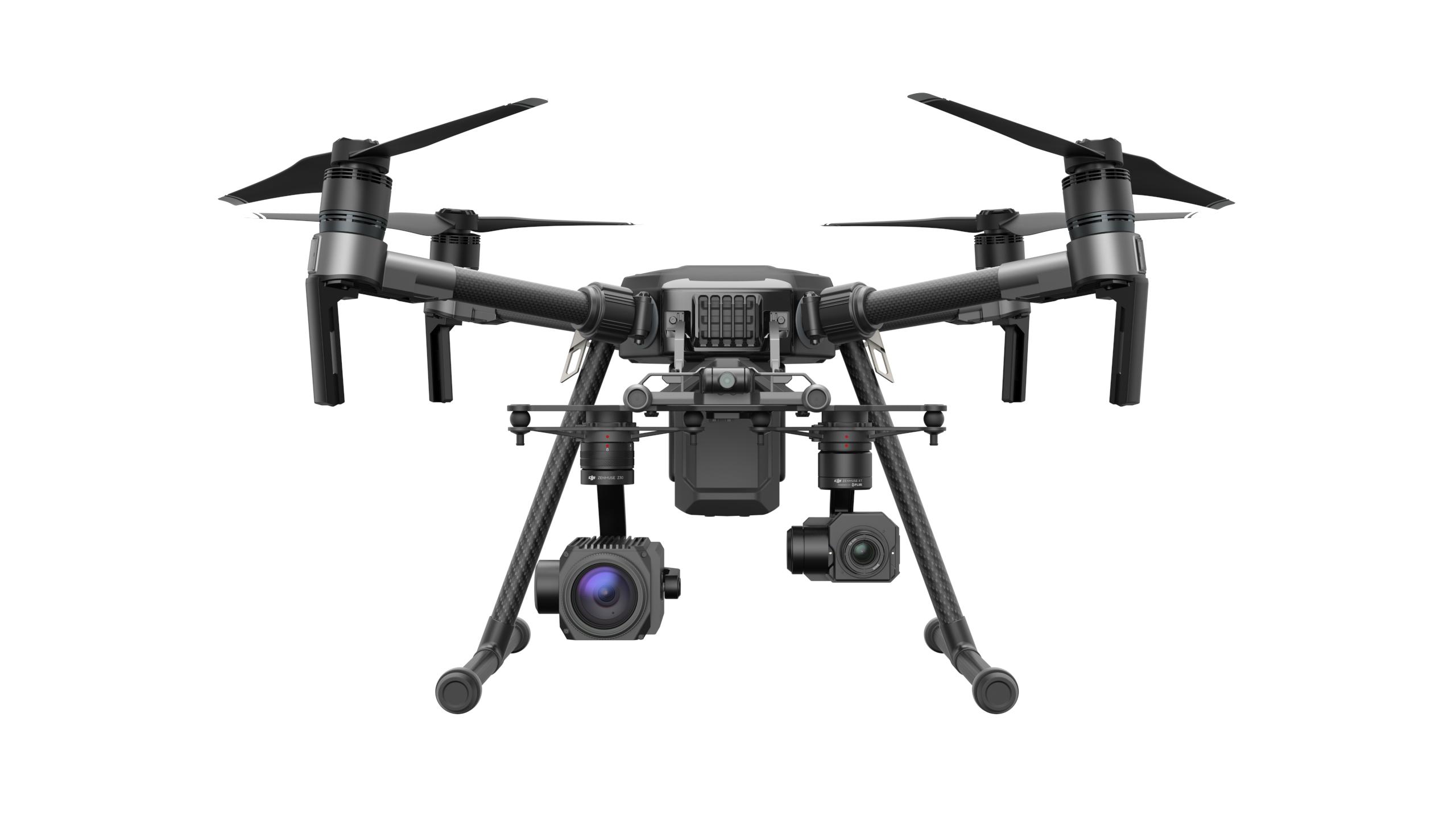 经纬M210搭载禅思Z30远摄变焦云台和禅思XT热成像相机 .png