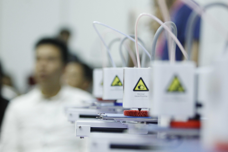 维示泰克发布全球最快桌面式3D打印机