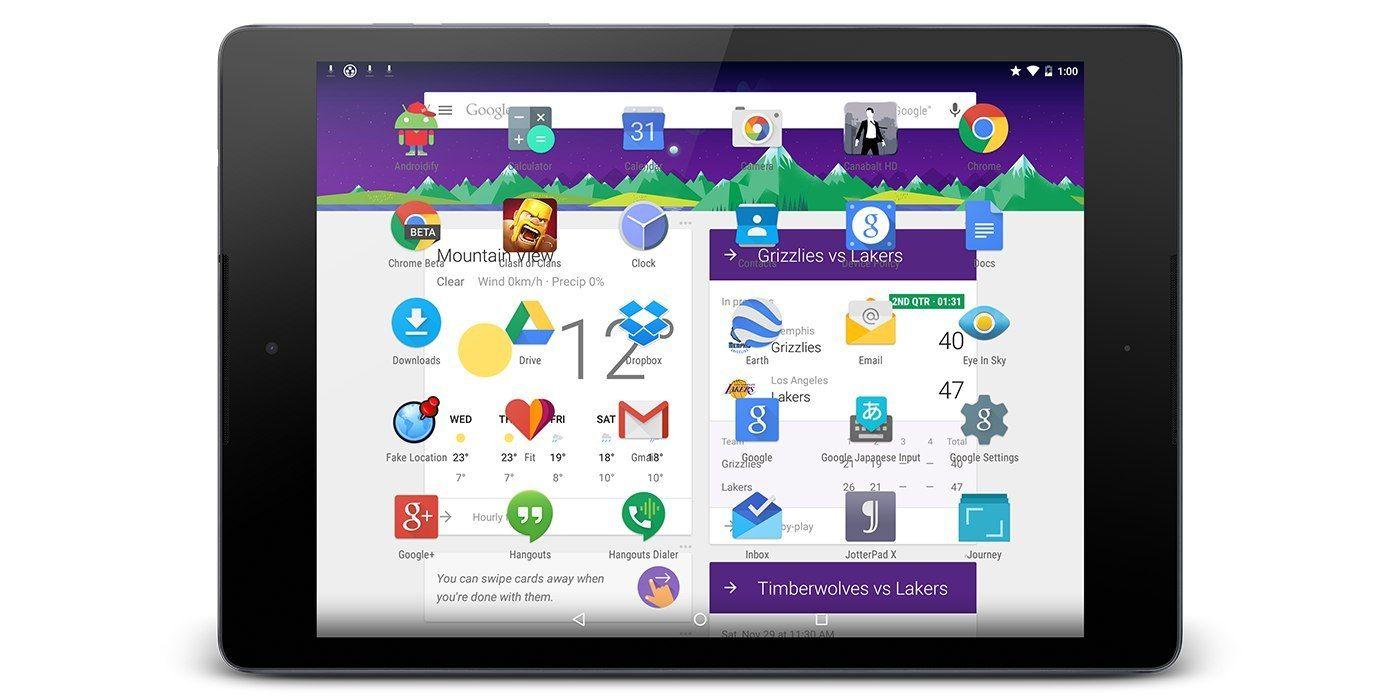 Google 大概是真的打算放弃 Android 平板了