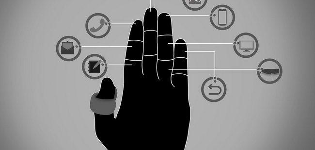指尖上的手势操作—智能扳指 Fin