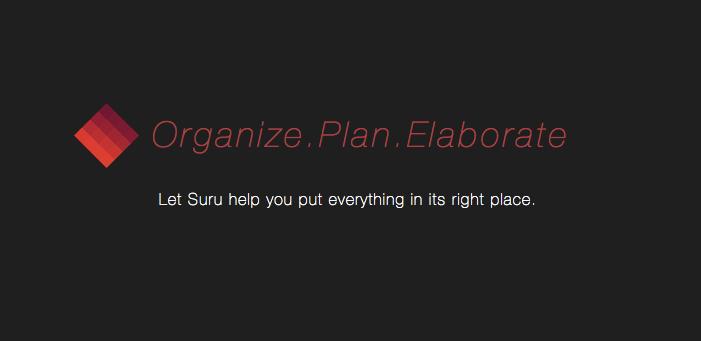 Suru:多彩清脆的任务规划