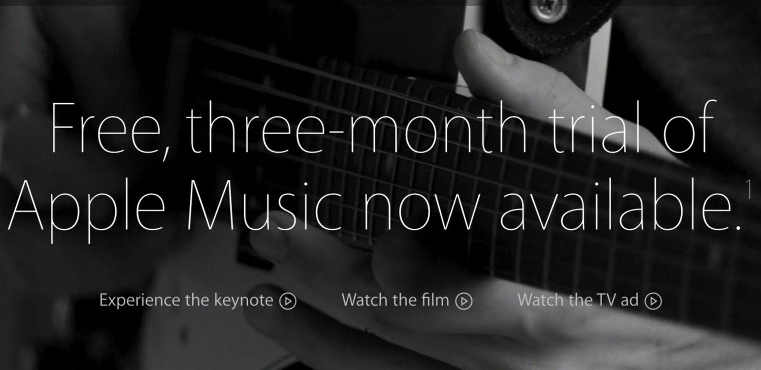 Apple Music 推出一个月已获 1100 万试用会员 | 极客早知道 2015 年 8 月 7 日